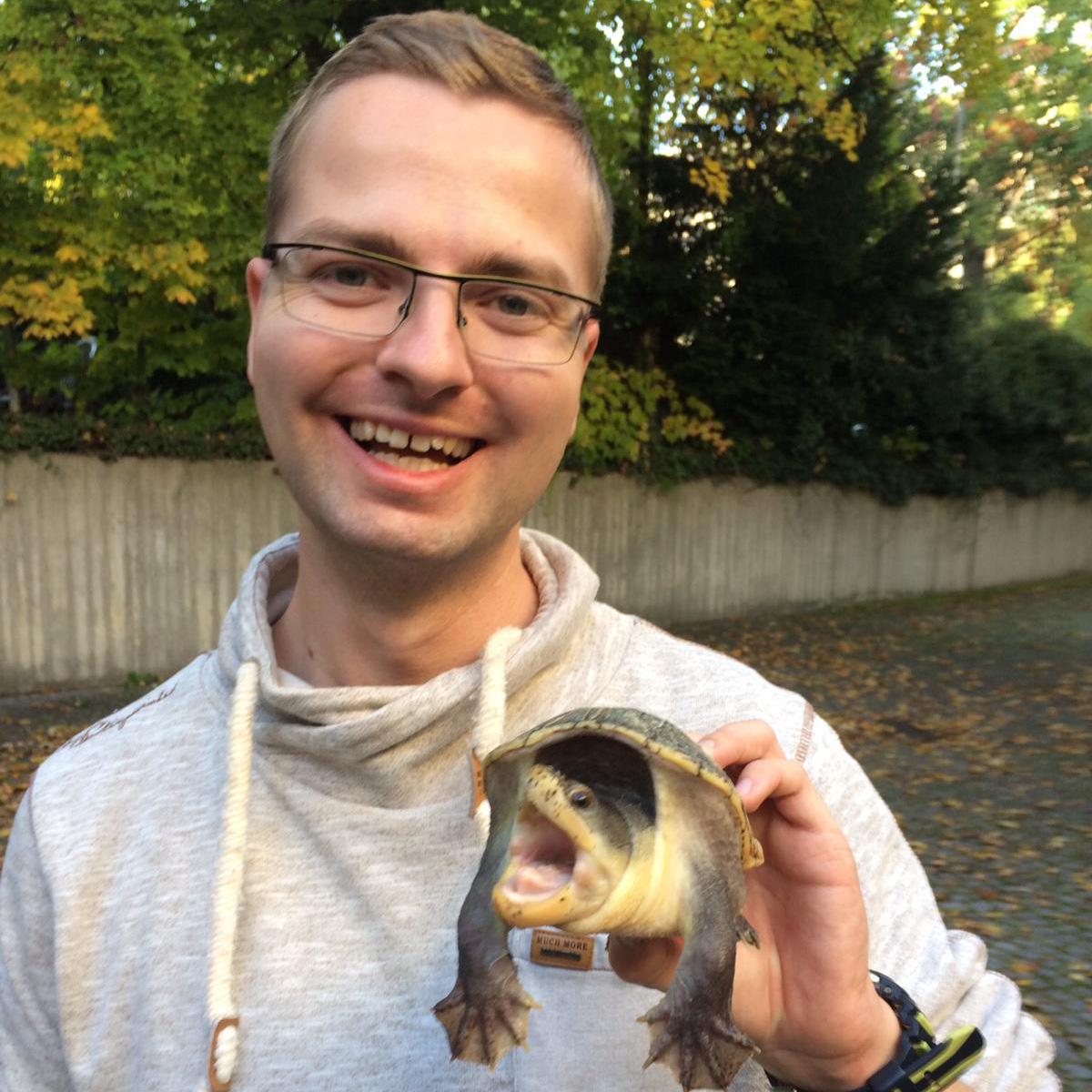 A photograph of Christoph Leineweber.